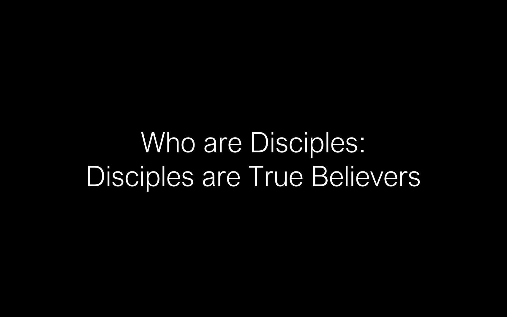ESH-11 - The Discipline Of Disciple-Making - Disciples - Follow Christ & Make Disciples (12)
