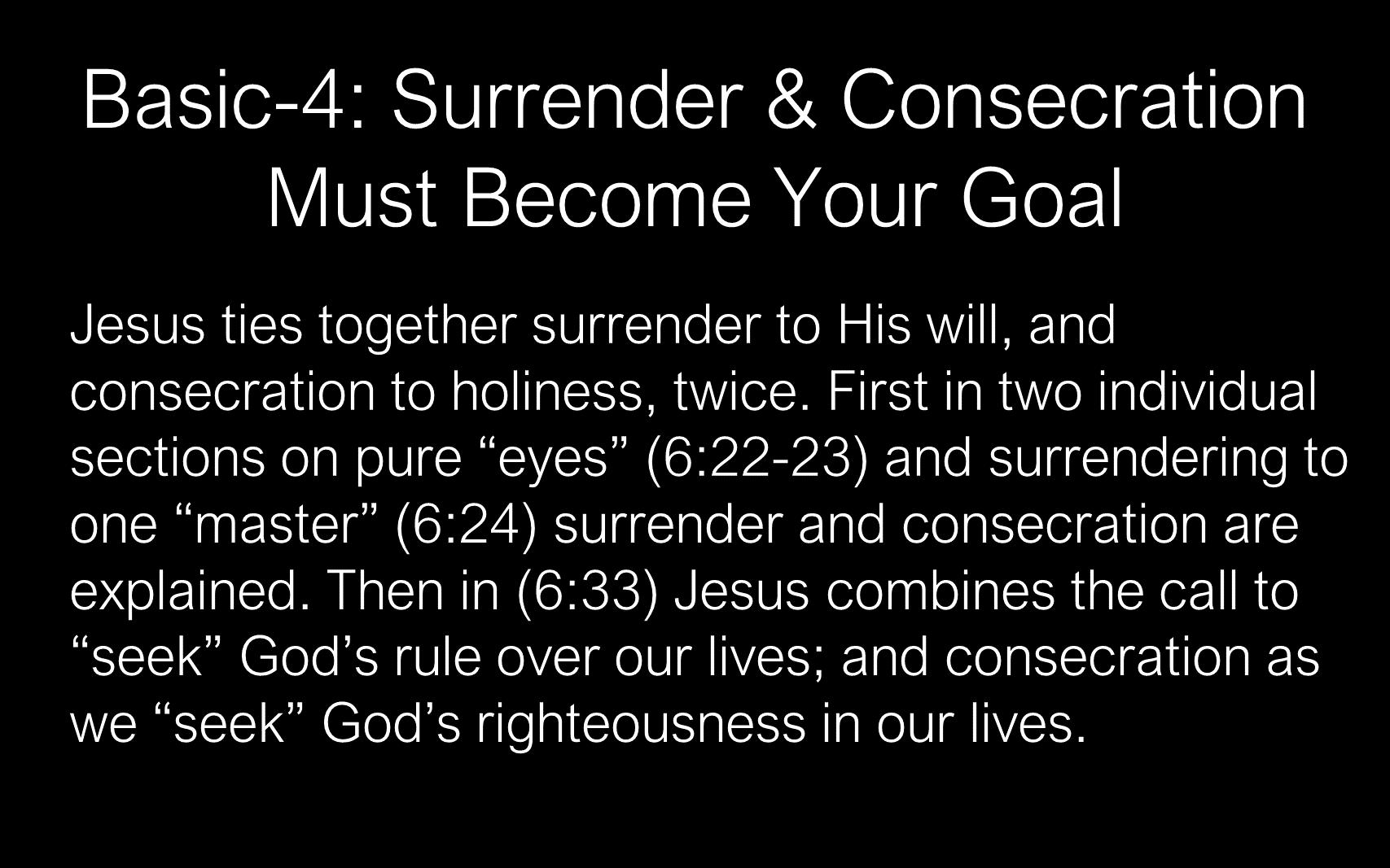 The Discipline Of Disciple-Making - Disciples - Follow
