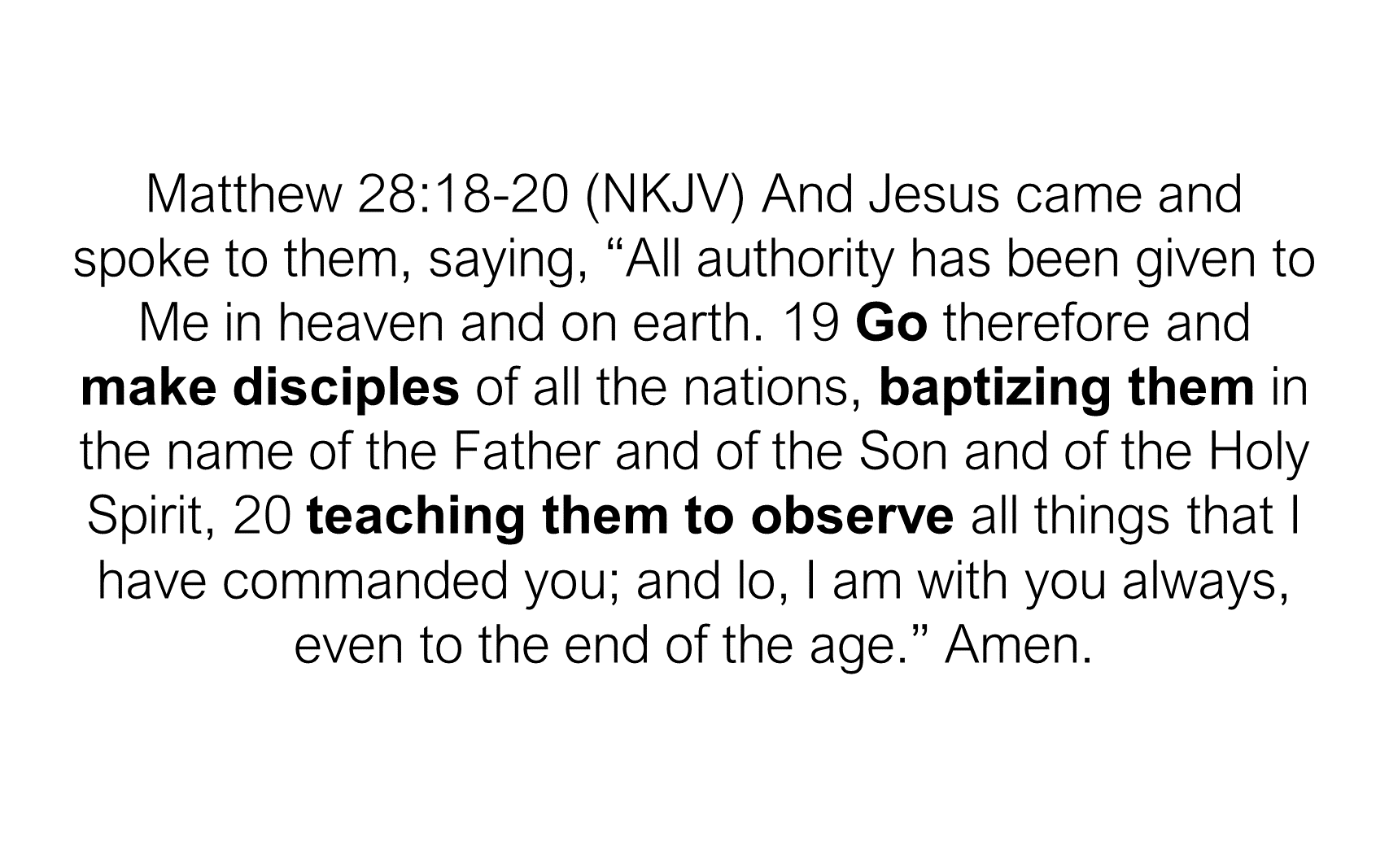 ESH-17 - The Discipline Of Disciple-Making - Making Disciples & Baptizing Them (5)