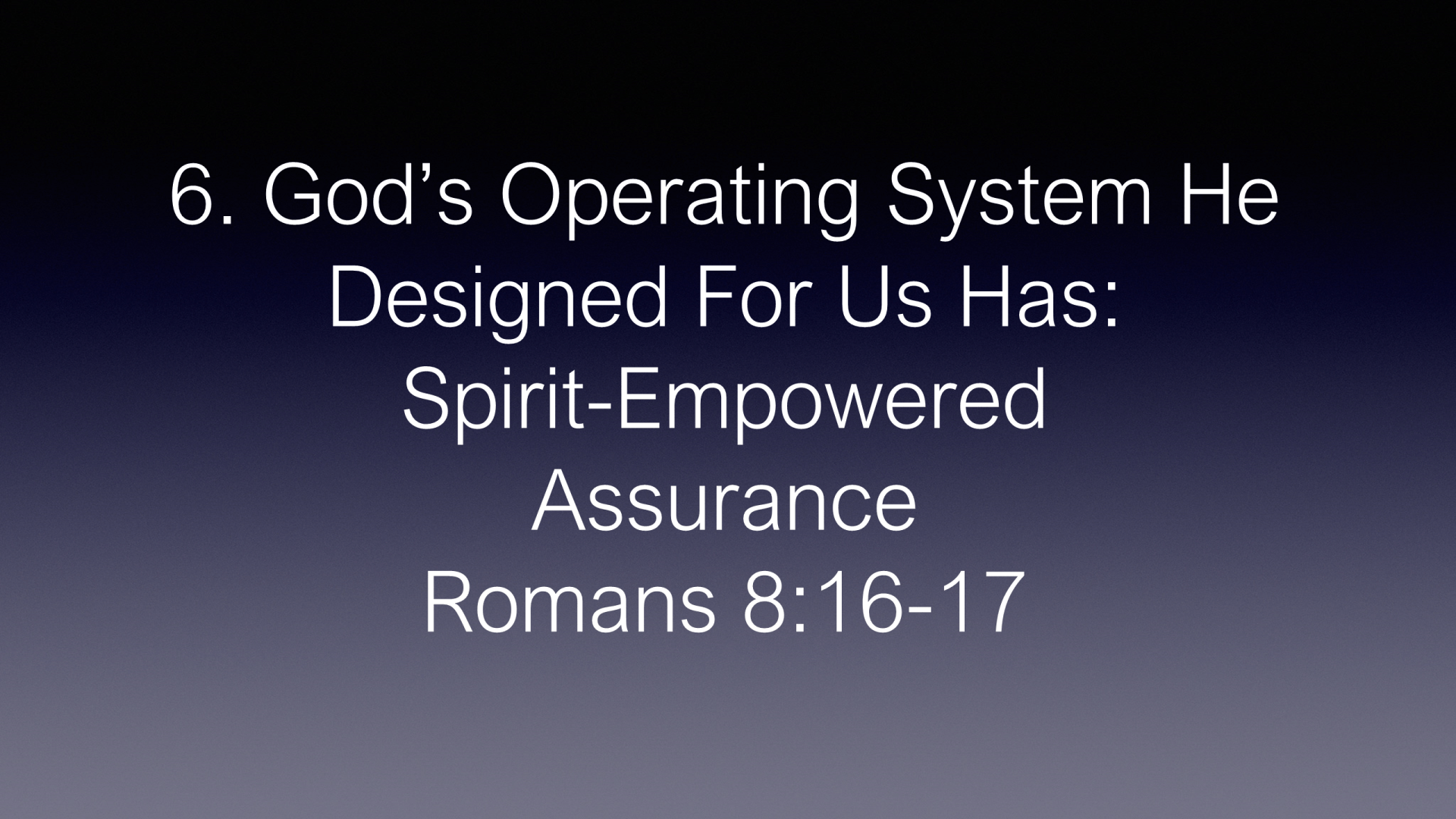 ESH-32 - God Designed The Most Amazing Operating System In The Universe - How Well Is It Working In Your Life (19)