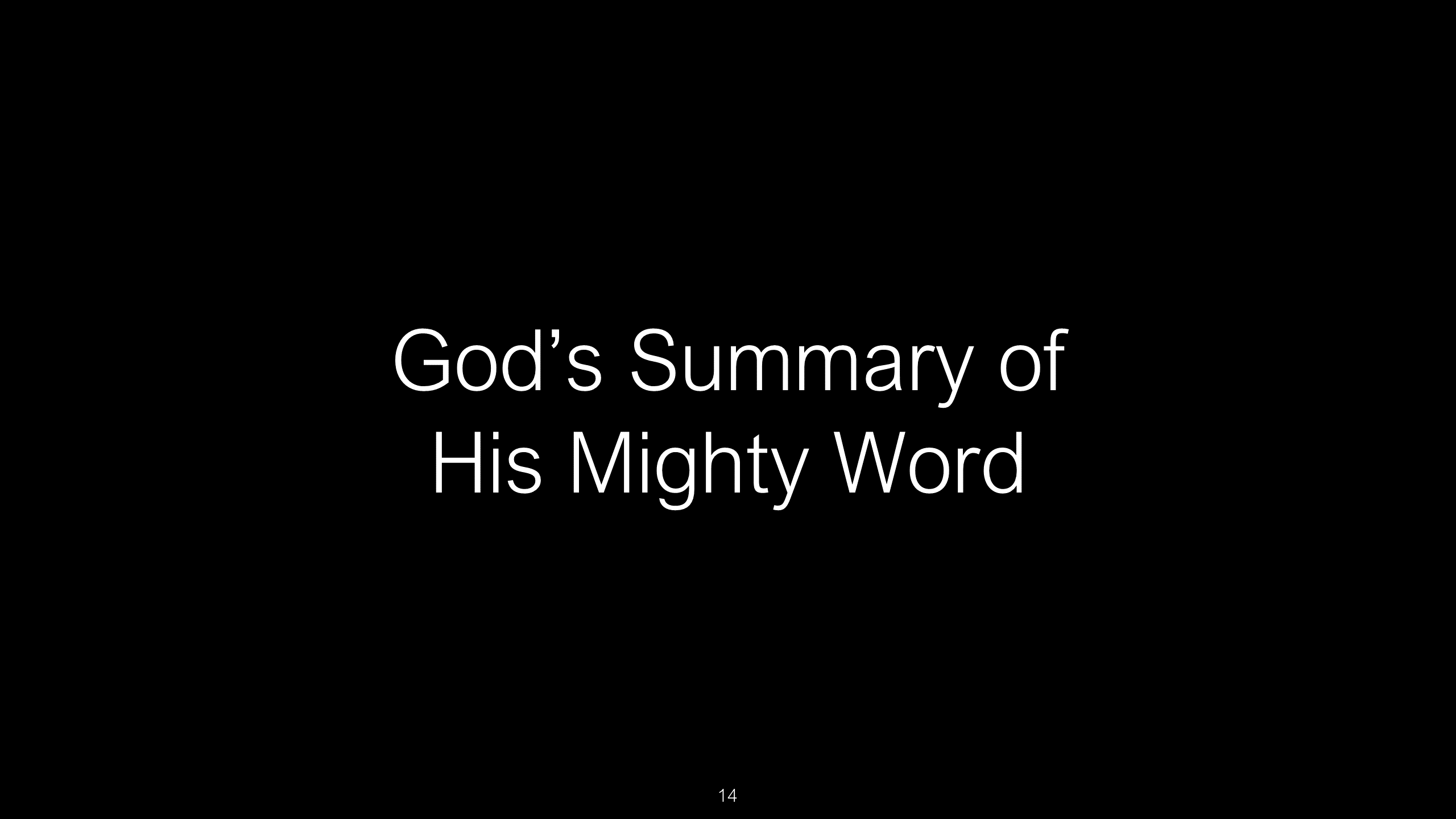 SWS-36 - Psalm 119 - The Bible's Longest Chapter is a Spiritual Diary on How to Use God's Word as the Sword o (14)