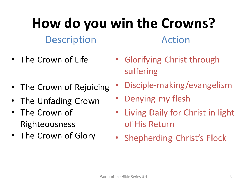 WTB-60 - Eternal Crowns For Believers Illustrated By Paul, Using The Roman World Of The N (9)