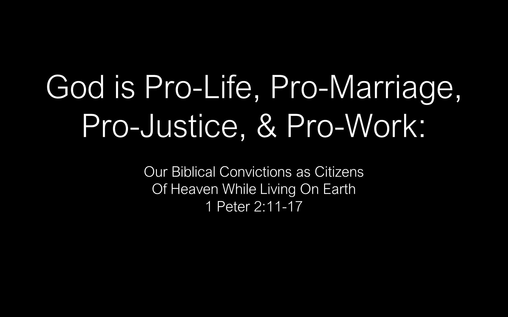 ESH-04 - God Pro-Life, Pro-Marriage, Pro-Justice, Pro-Work (1)