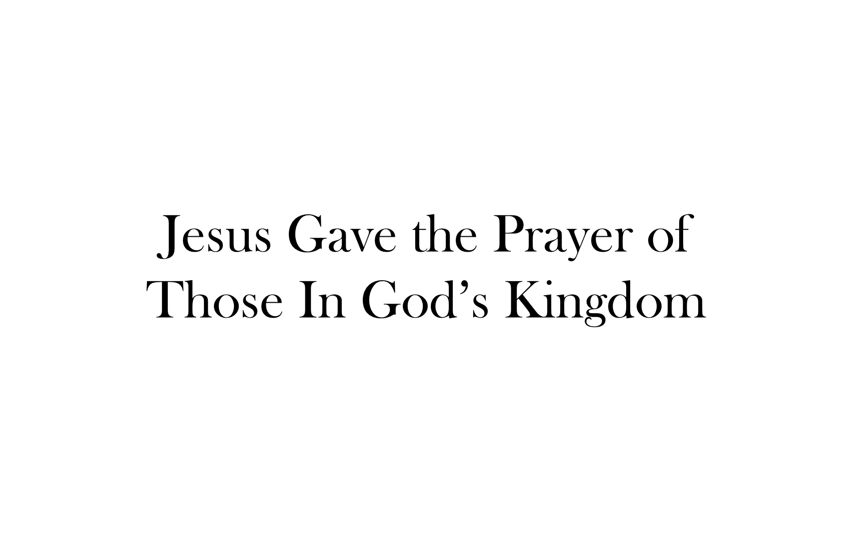 ESH-20 - The Discipline Of Disciple-Making - Seeing, Understanding, Entering, Living, & Seeking The Kingdom Of God ( (21)