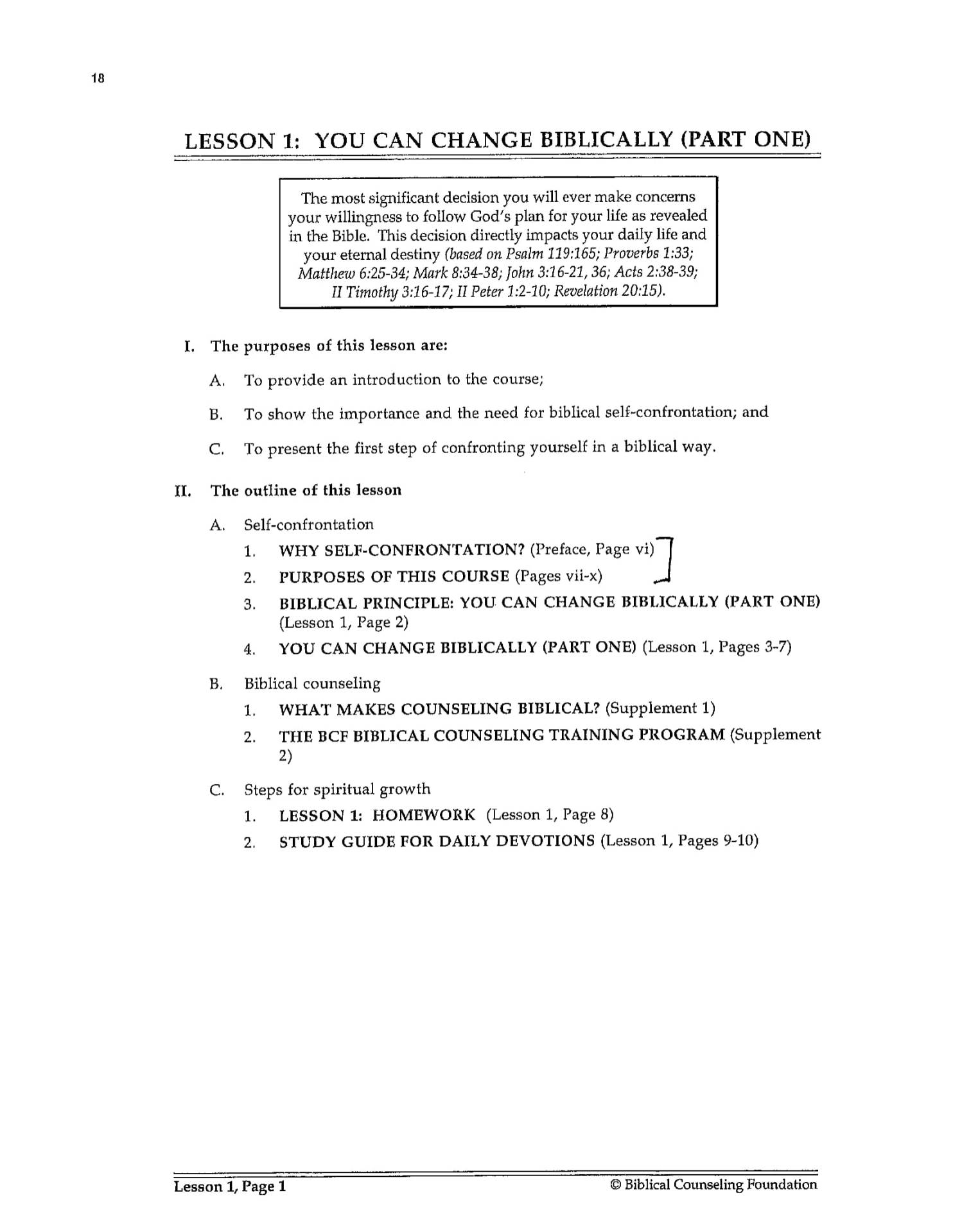 BC&D-02 - Lesson 1 - You Can Change Biblically 1 Work Book Page-02