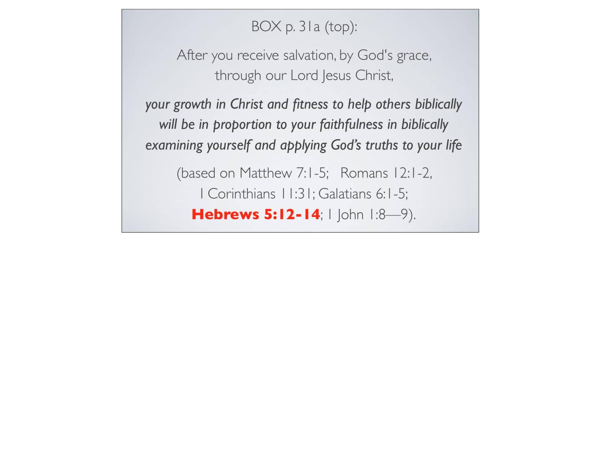 BC&D-06 - Foundations For Sanctification - Part 2-02