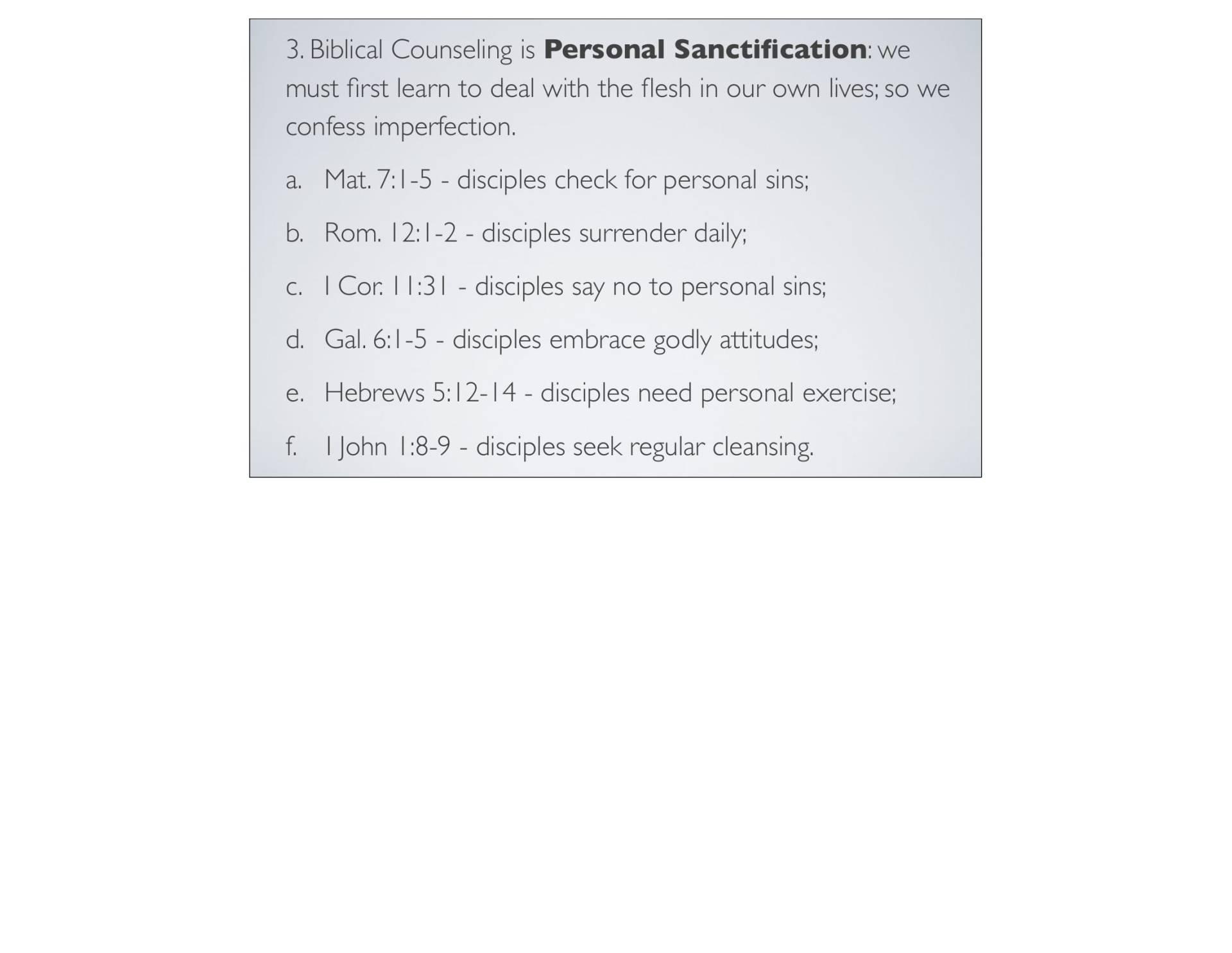 BC&D-06 - Foundations For Sanctification - Part 2-05