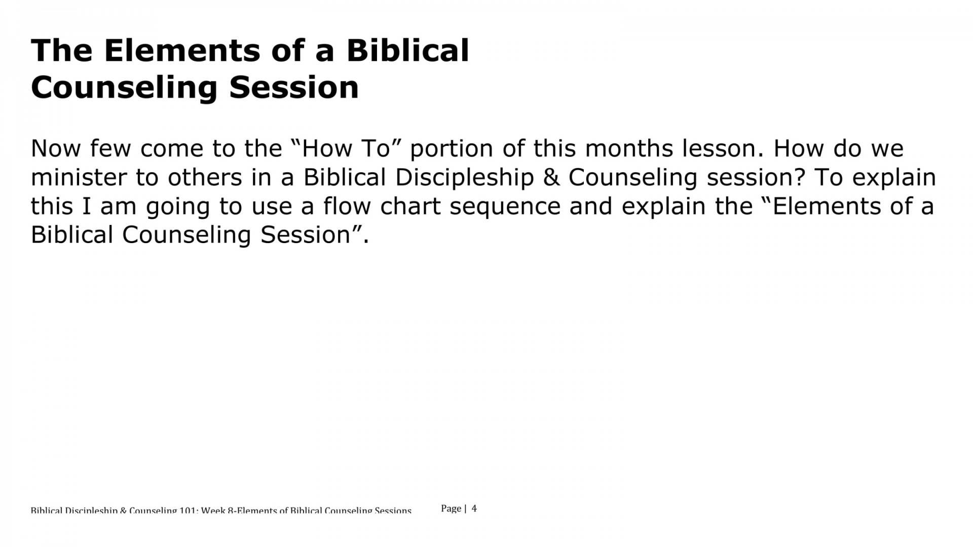 BC&D-08 - Lesson 2 - The Call From God To Be Disciple Making Biblical Counselors-04