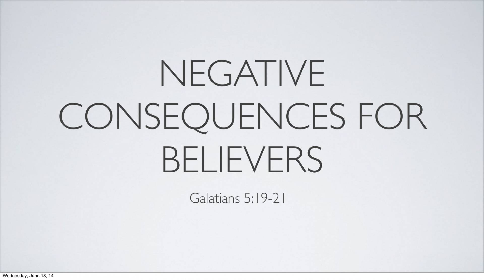 BC&D-14 - Lesson 5-1 - The Inescapable Consequences Of Sin-16