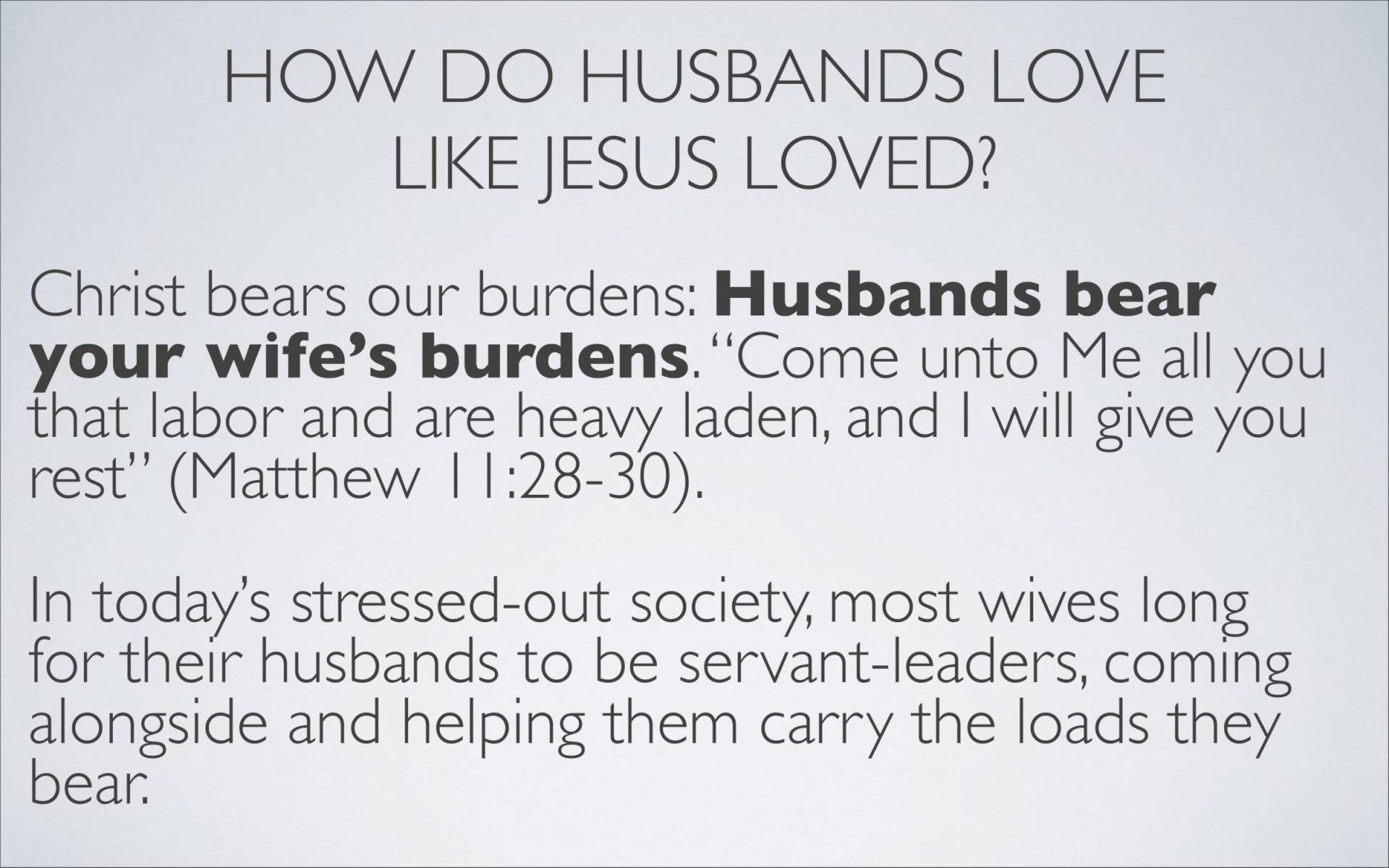 BC&D-37 - Lesson 15-1 - The Marriage Relationship - Husbands-26