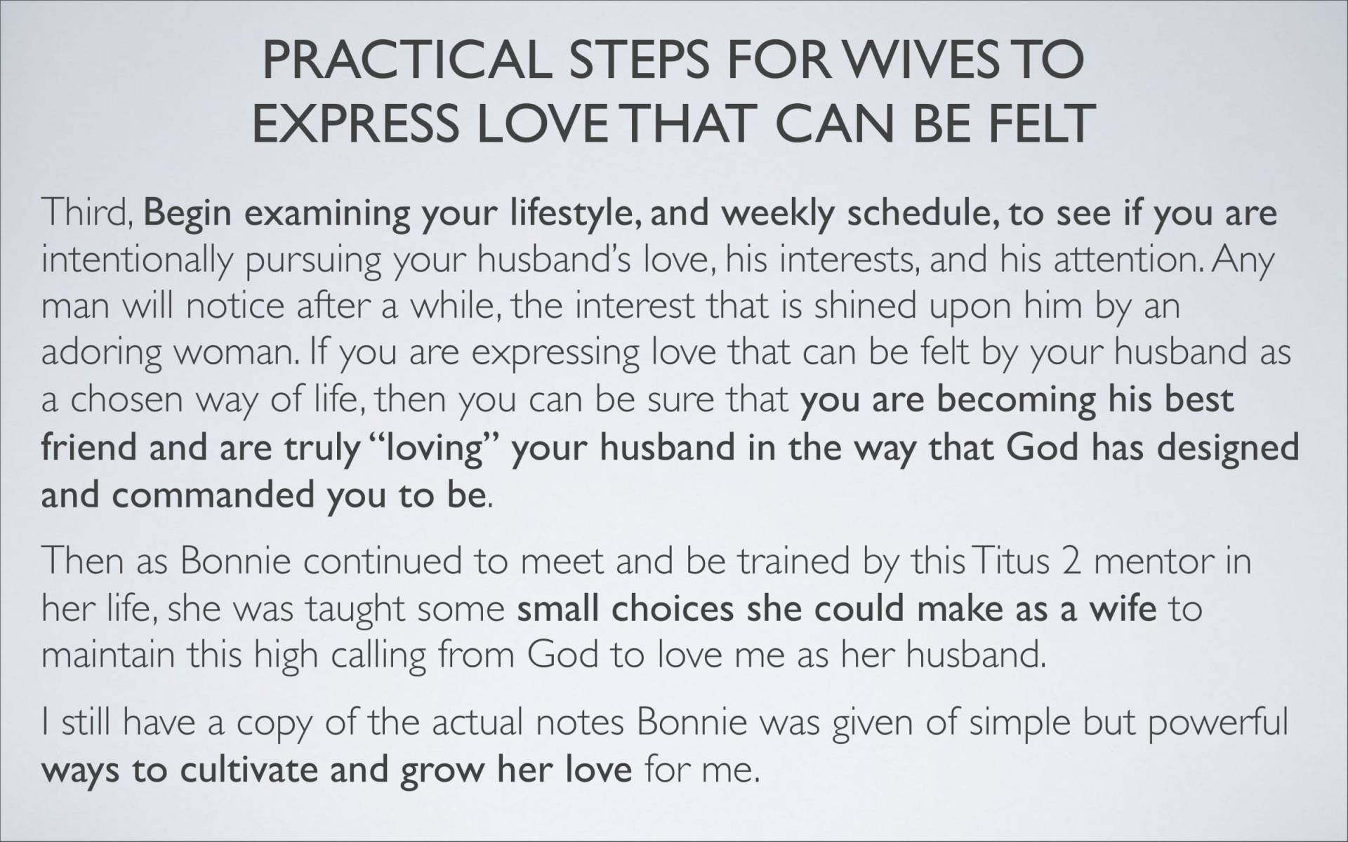 BC&D-38 - Lesson 15-2 - The Marriage Relationship - Wives-25