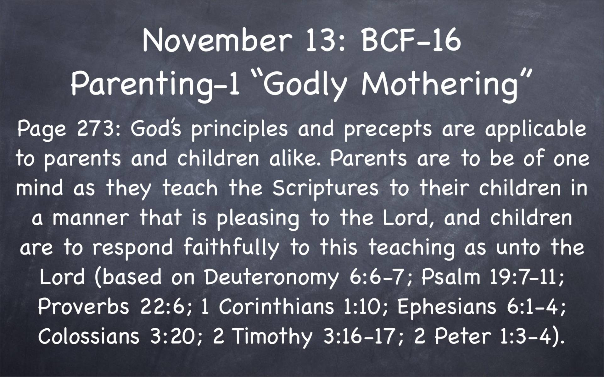 BC&D-39 - Lesson 16-1 - Parenting - Godly Mothering-03