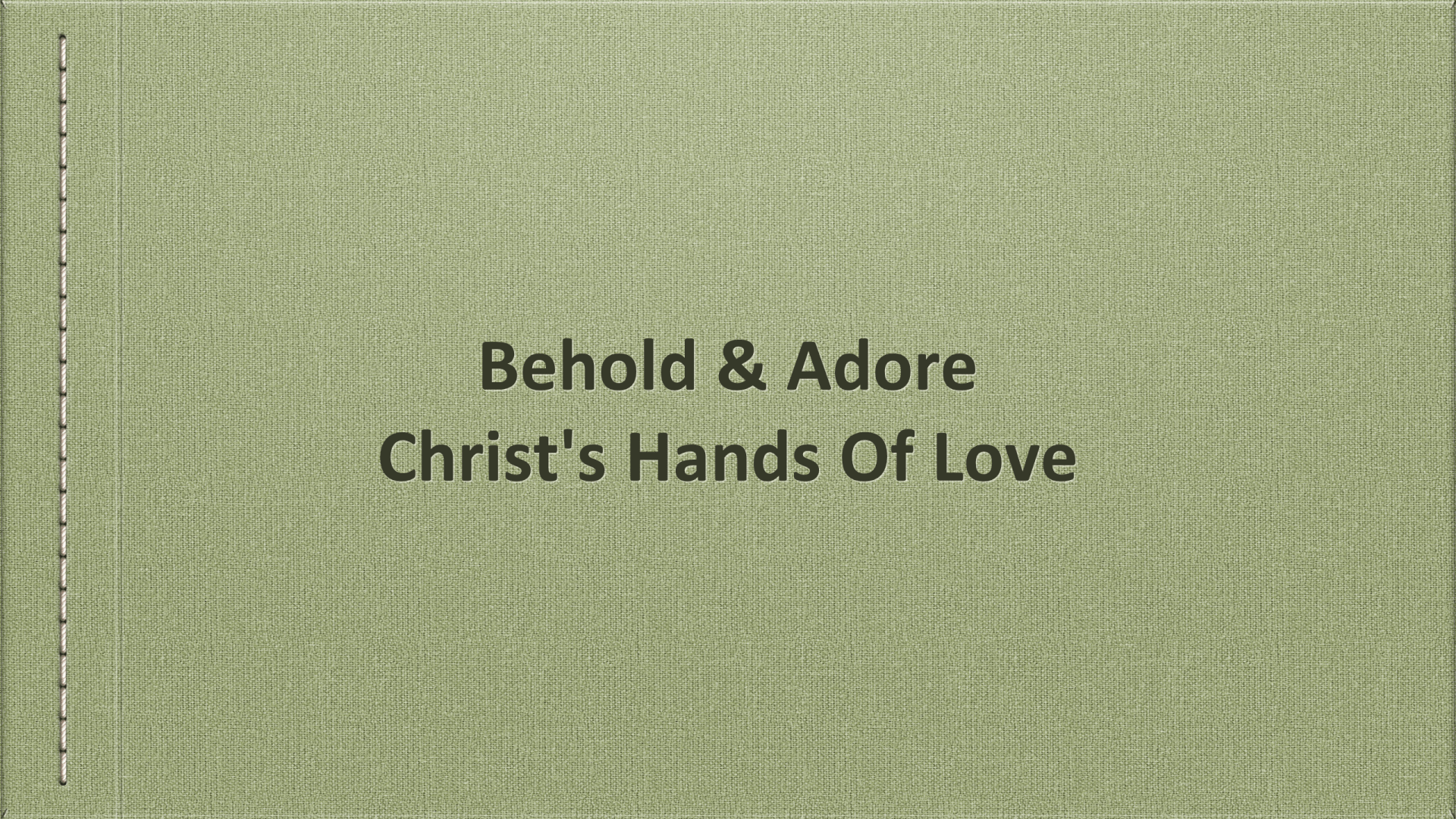 GCM-52 - The Hands Of God, Face Of God, And Feet Of God - In A Manger (5)