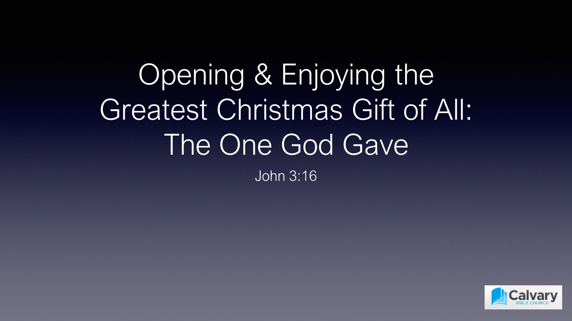 FTF-13 - Opening & Enjoying the Greatest Christmas Gift Of All - The One God Gave (1)
