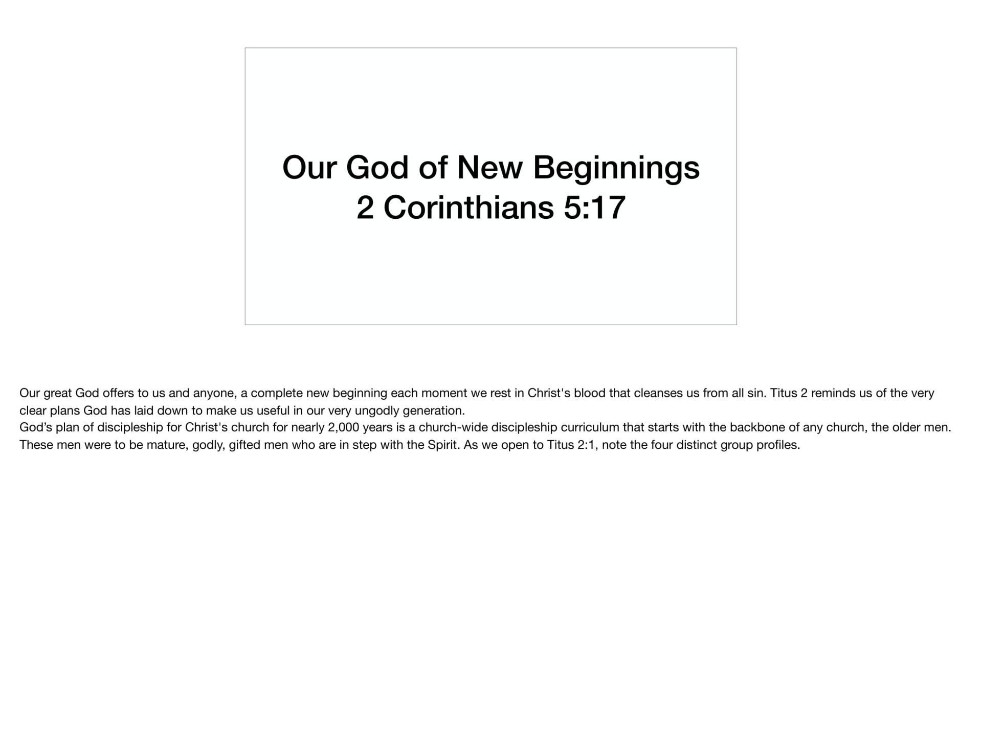 LGI-01 - God's Recovery Program Is Sanctification-09