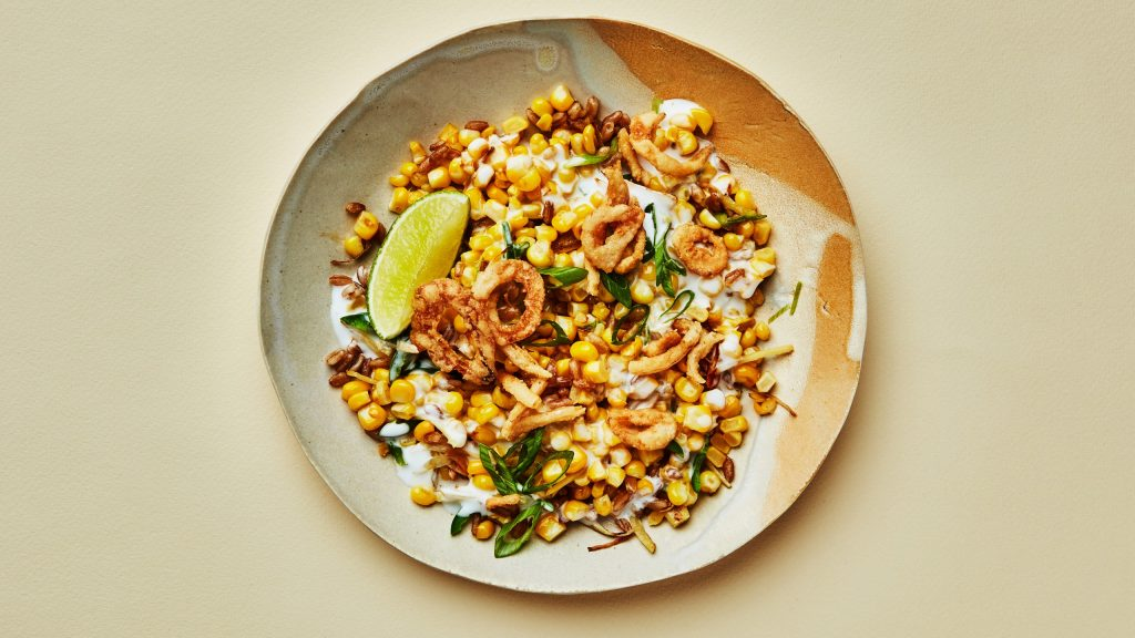 Delicious Coconut-Creamed Corn and Grains