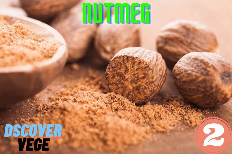 Nutmeg The Best Fresh Ginger Substitute