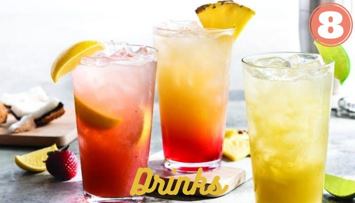 List of Drinks at Chili's