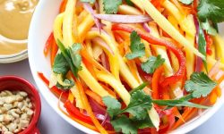 Mango Salad with Peanuts and Lime