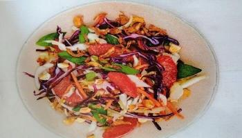 Thai Grapefruit Salad and Cashews Recipe