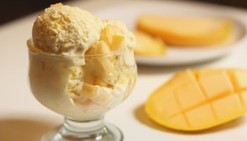 Mango And Cashew Ice Cream