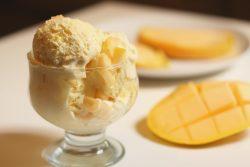 Mango And Cashew Ice Cream