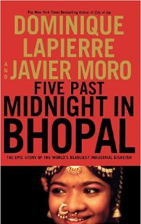 5 past midnight in bhopal by Dominique Lapierre -  the most famous & controversial banned books in India