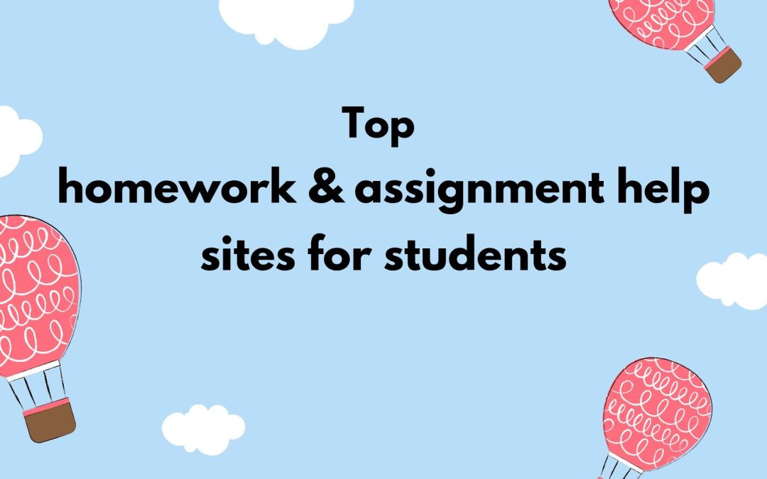 World's Best online Homework & Assignment help websites