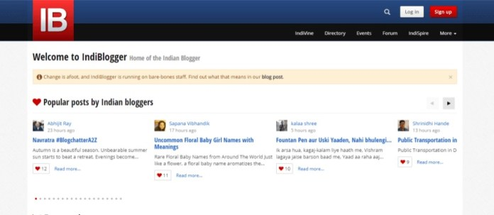 Indiblogger Bloggers Community
