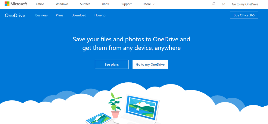 Microsoft one Drive - best and cheap cloud drive storage for individuals personal use