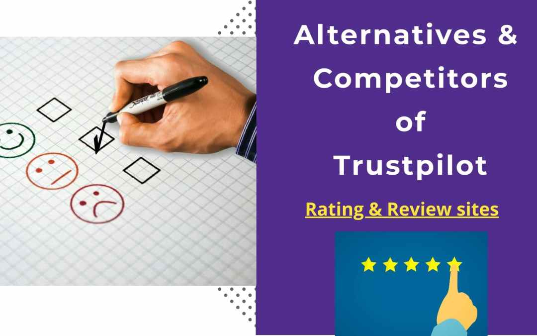 Trustpilot Alternatives & Competitors | rating & review sites