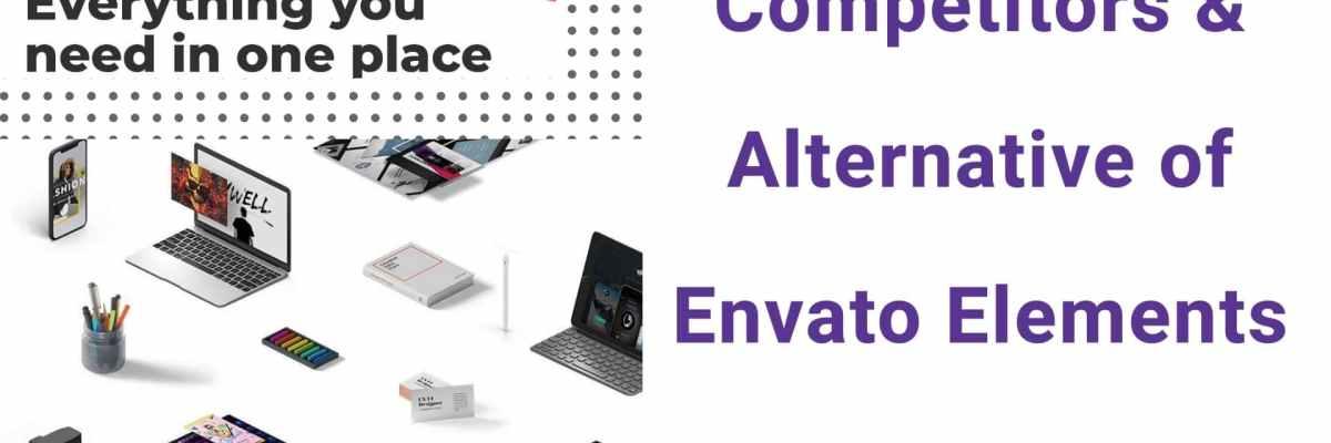 Competitors and Alternative of Envato Elements
