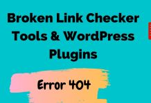 Broken link checker tools & wordpress plugins