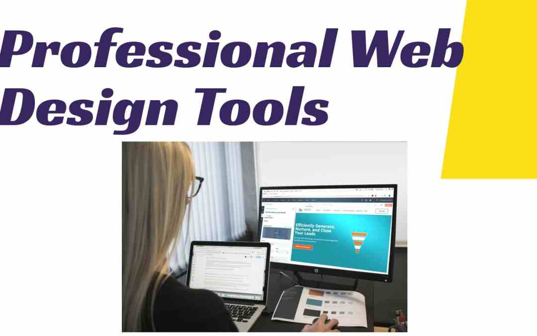 Best 10 Professional Web design tools & software