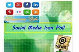 Social Media News Icon Poll - 2016