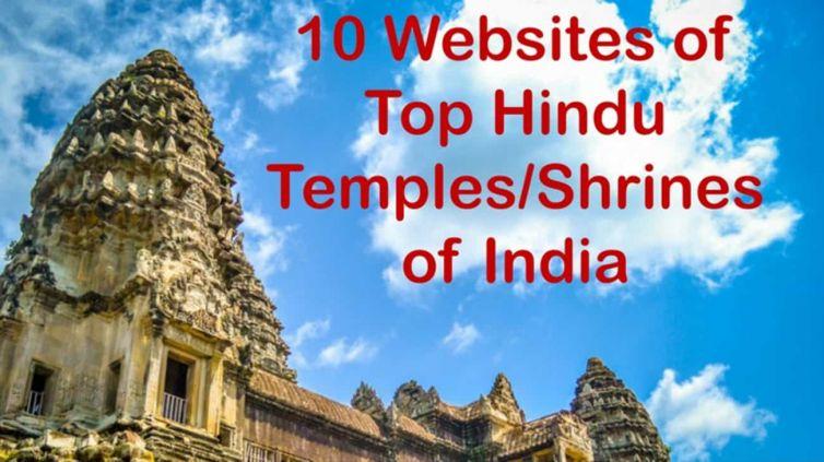 list of india hindu temples