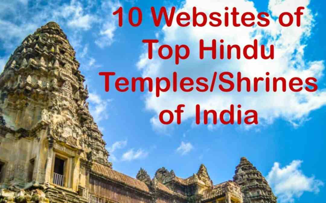 list of india hindu temples