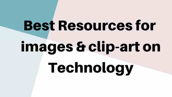 Best websites for Technology/technical hd Images and clip-art