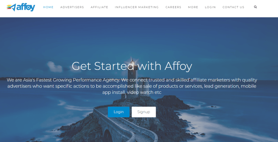 Affoy - Indian Affiliate network