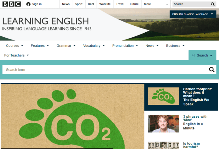 best english learning websites - BBC Learning English