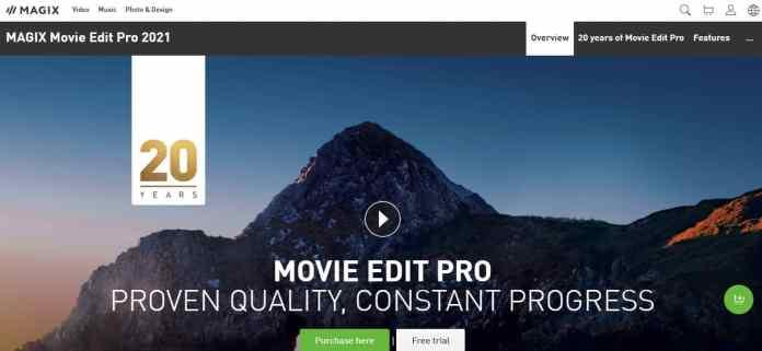 Magix movie edit pro 2021- Cheapest VideoEditor