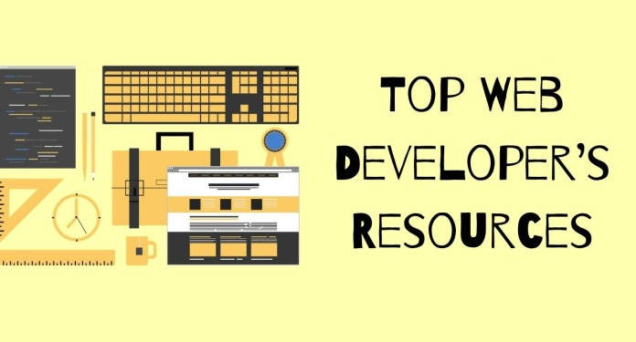 Top Web Developer's Resources & Development Tools