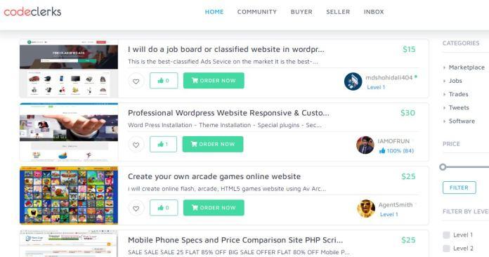 Codeclerks-Codecanyon-alternative-similar-websites