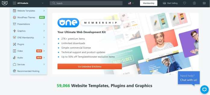 Template Monster as Codecanyon alternative