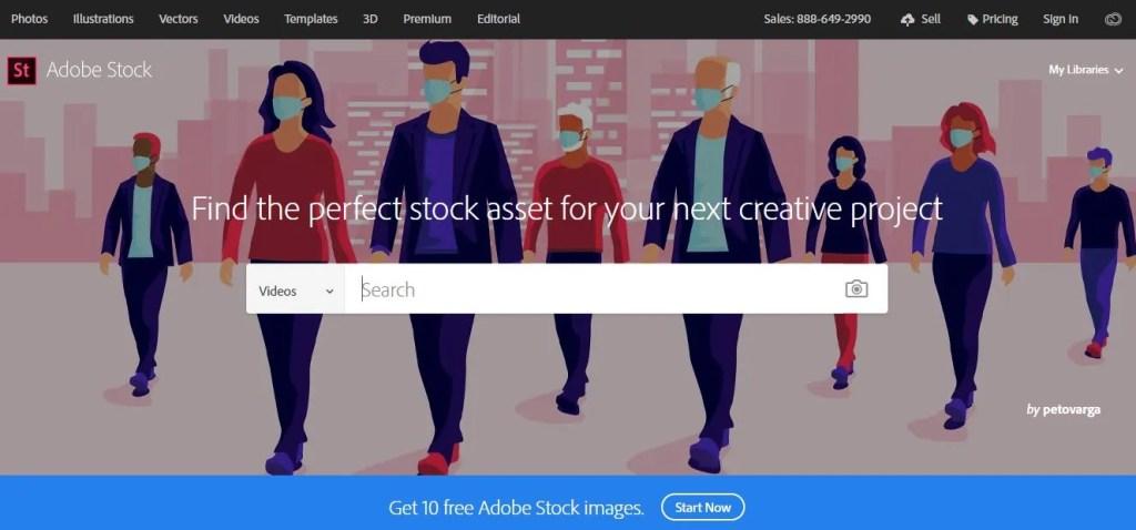 Adobe Stock as best alternative to Shutterstock