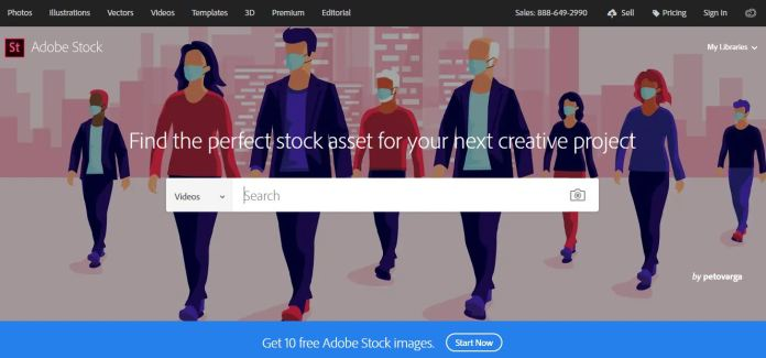 Adobe Stock as best alternative and competitors to Shutterstock