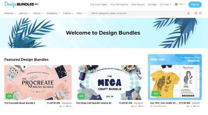 Design Bundles creative Market Alternatives