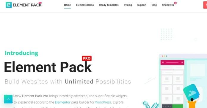 element pack pro floating ToC wordpress plugins