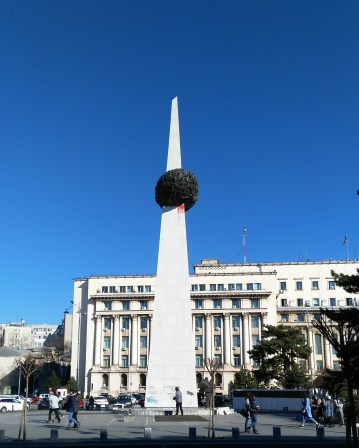 "The ""potato"" - Memorial of the Rebirth in Bucharest"