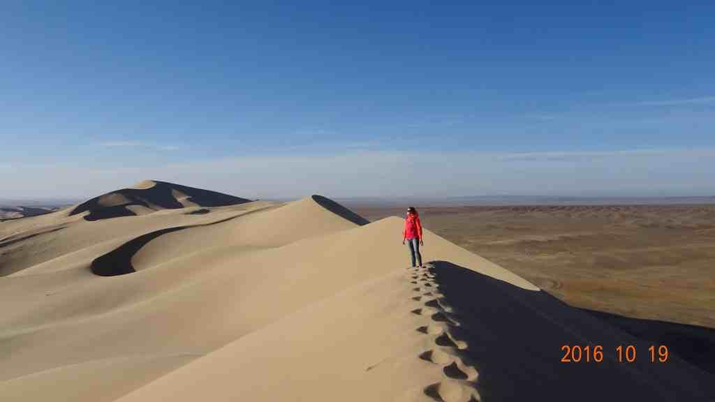 Sand Dunes of Khongoriin Els